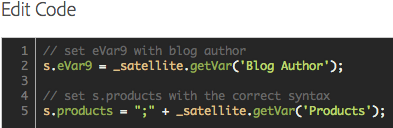 setting variables with _satellite getVar